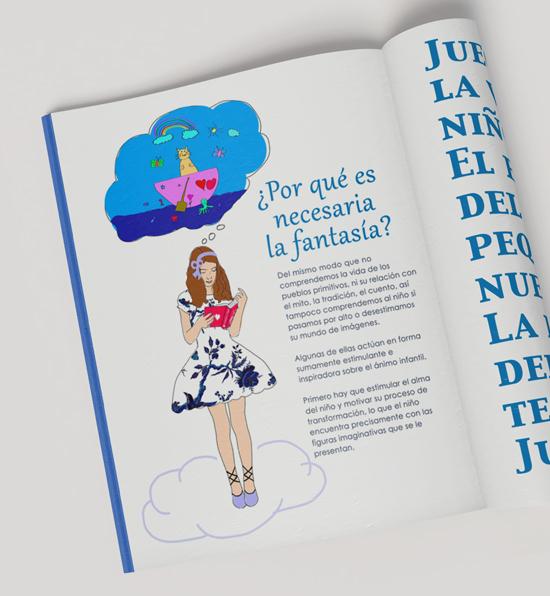 amaiatubia ilustracion libro fantasia